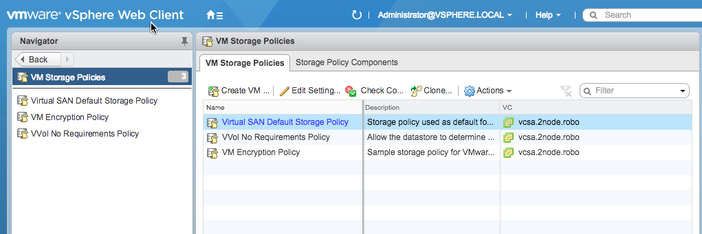 Backup or Recover SPBM Profiles with PowerCLI – Jase's Place